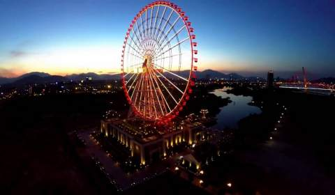 Sun Wheel - spin Top 10 highest in the world