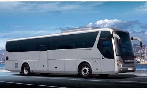 45 seats bus rental