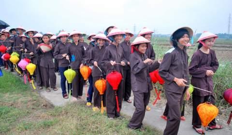 Procession Festival shepherds