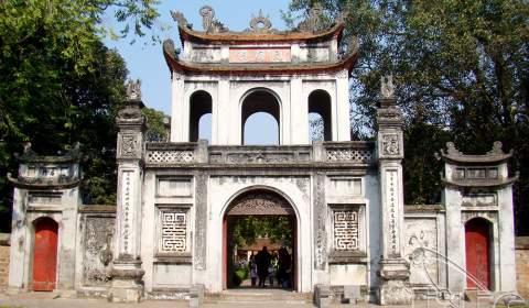 Quoc Tu Giam Temple