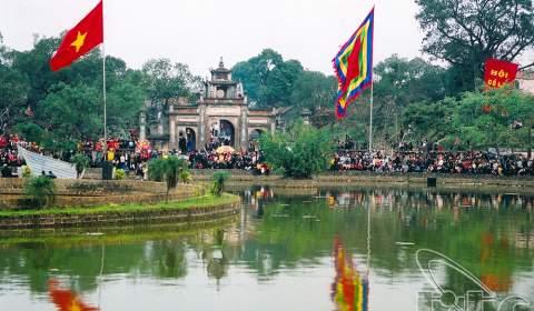 Co Loa Citadel and An Duong Vuong Temple