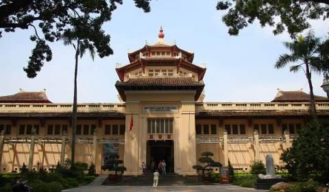 Vietnam History Museum - City. Ho Chi Minh
