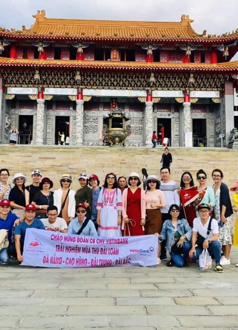 Hình ảnh thực tế tour Đài Loan 3/11 và 20/11/2018 của đoàn CB CNV VIETINBANK SÔNG HÀN