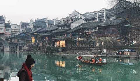 Kinh nghiệm du lịch Phượng Hoàng Cổ trấn - Trương Gia Giới tháng 1/2019