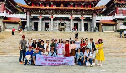 Hình ảnh thực tế tour du lịch Đài Loan của ZIONTOUR